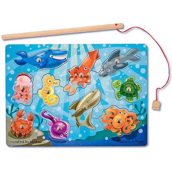 Melissa & Doug® 10-pc. Deluxe Fishing Magnet Game