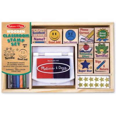 Melissa & Doug® Deluxe Classroom Stamp Set