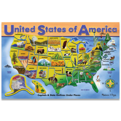 Melissa & Doug® USA Map Puzzle