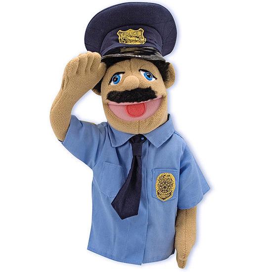 Melissa & Doug® Police Officer Puppet