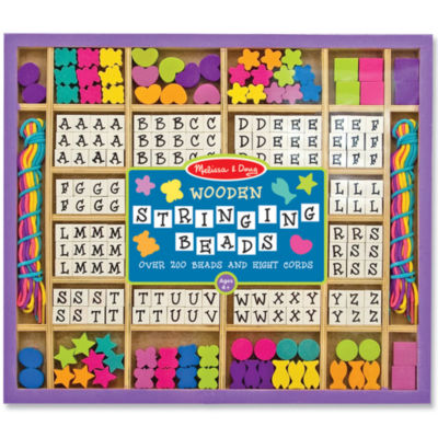 Melissa & Doug® Deluxe Wooden Stringing Beads