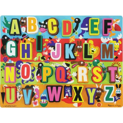 Melissa & Doug® Chunky Jumbo ABC Puzzle