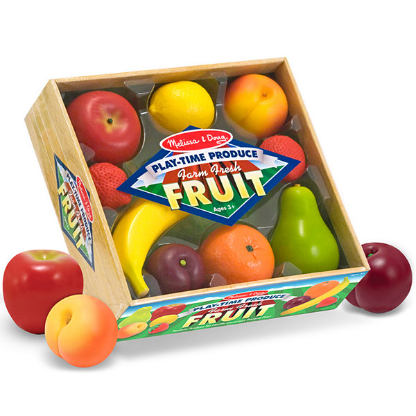 Melissa & Doug® Play Time Produce Play Fruit