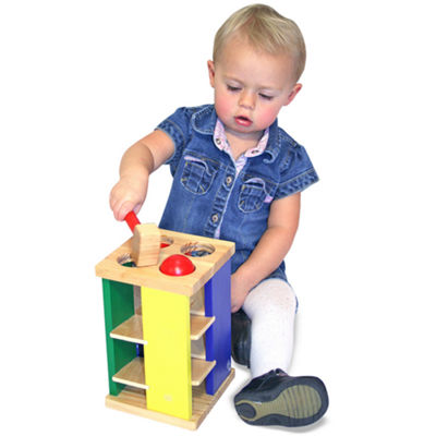Melissa & Doug® Pound and Roll Play Tower