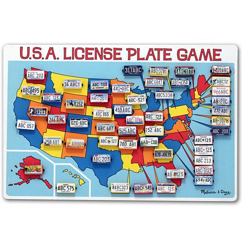 Melissa & Doug® U.S.A. License Plate Game