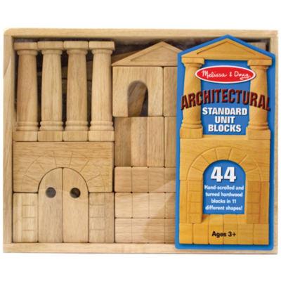 Melissa & Doug® Architectural Wood Blocks