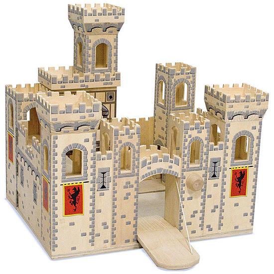 Melissa & Doug® Deluxe Medieval Folding Castle