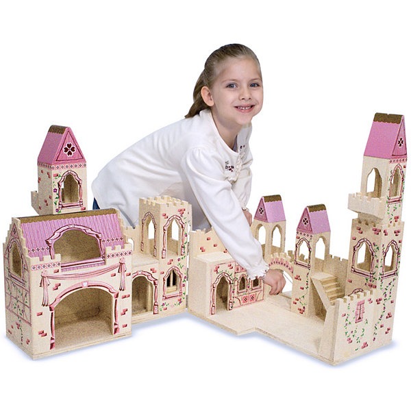 Melissa & Doug Deluxe Folding Princess Castle