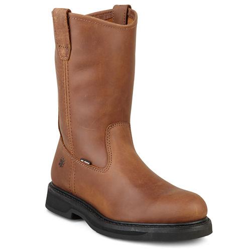 Wolverine® Durashocks Mens Leather Work Boots