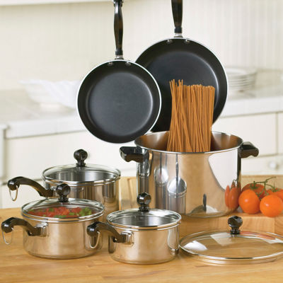 Farberware® Classic 10-pc. Stainless Steel Cookware Set