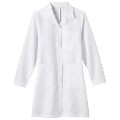 Fundamentals by White Swan Meta 1964 Ladies 5-Pocket Lab Coat - Plus & Tall