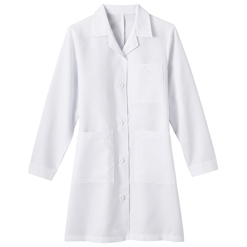 Fundamentals by White Swan Meta Ladies 5-Pocket Lab Coat - Big & Tall plus size,  plus size fashion plus size appare