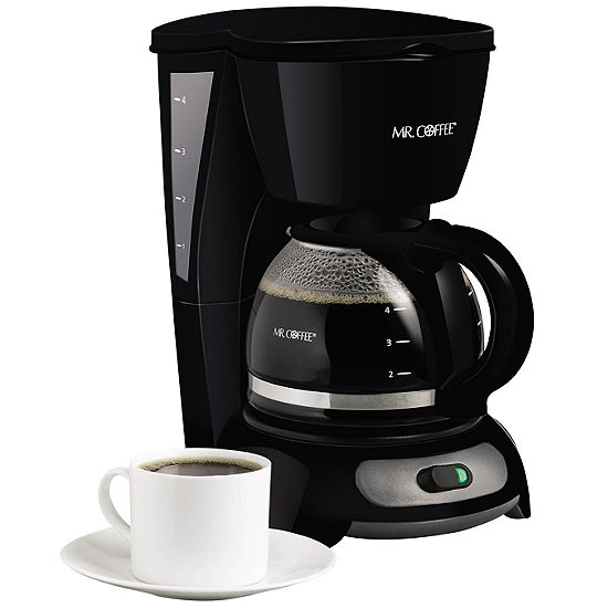 Mr. Coffee® 4-Cup Coffee Maker TF5GTF