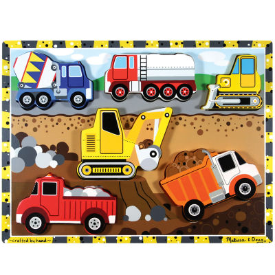 Melissa & Doug® Construction Chunky Puzzle