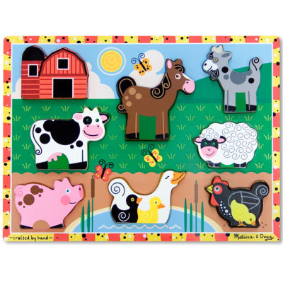 Melissa & Doug® Farm Chunky Puzzle