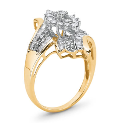 Diamond Ring 3/4 CT. T.W. 10K Gold