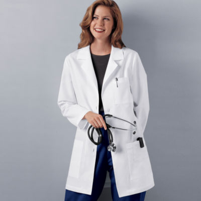 "Cherokee® Womens 32"" Lab Coat"