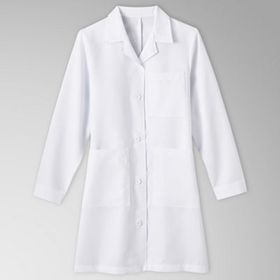 Meta Ladies 5-Pocket Lab Coat–Big & Tall