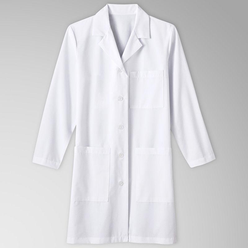 Meta Womens 3-Pocket Lab Coat plus size,  plus size fashion plus size appare