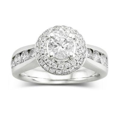 Love Celebrate Romance 2 CT TW Certified Diamond Engagement Ring