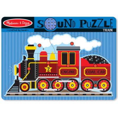 Melissa & Doug® Train Sound Puzzle