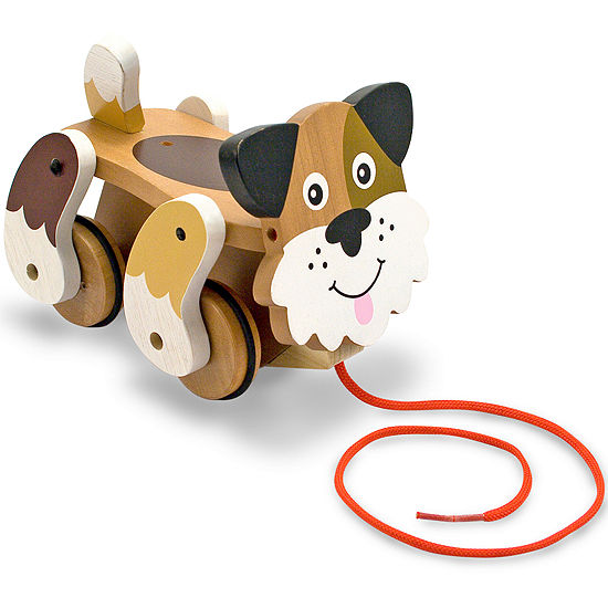 Melissa & Doug Playful Puppy Pull Toy
