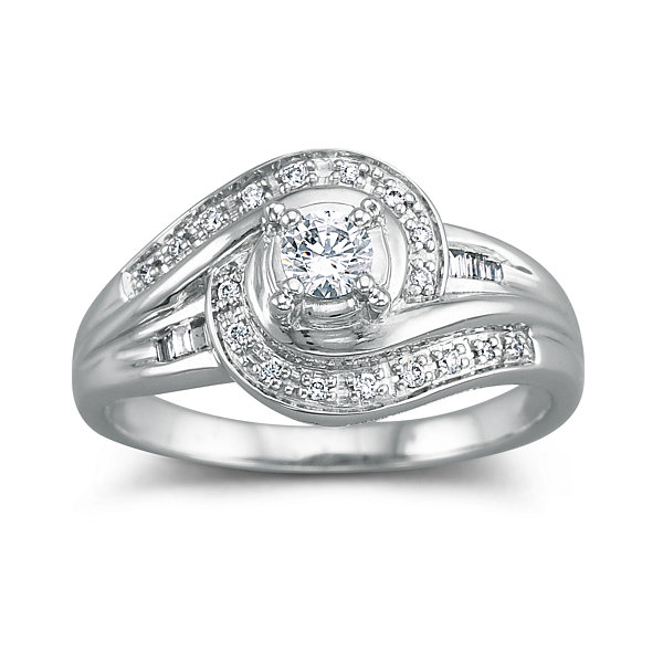 I Said Yes™ Diamond Engagement Ring, 1/4 CT. T.W.