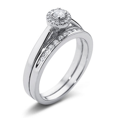 I Said Yes™ 1/3 CT. T.W. Certified Diamond Bridal Set