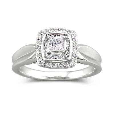 I Said Yes™ 1/3 CT. T.W. Diamond Engagement Ring