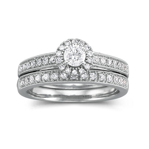 I Said Yes™ 1/2 CT. T.W. Certified Diamond Bridal Set