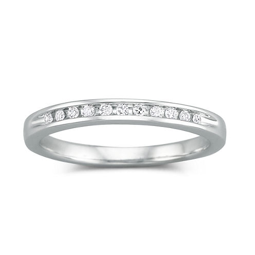 I Said Yes™ 1/10 CT. T.W. Certified Diamond Wedding Band