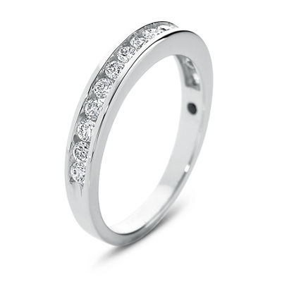 I Said Yes™ Diamond Ring, 1/2 CT. T.W. Certifed Diamond Channel Band