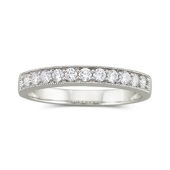 Diamonart Cubic Zirconia Wedding Ring