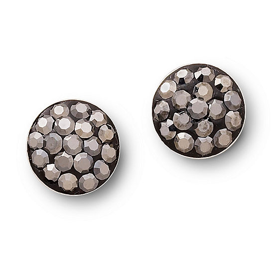 Silver Treasures 9mm Stud Earrings
