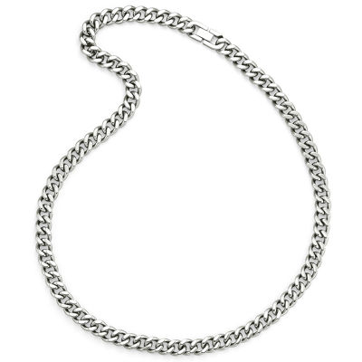 "Men's 24"" Curb Chain Stainless Steel"