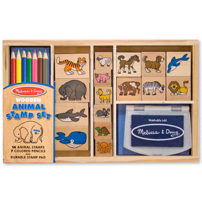 Melissa & Doug® Animal Stamp Set