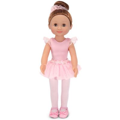 """Melissa & Doug® Victoria - 14"""" Ballerina Doll"""""""