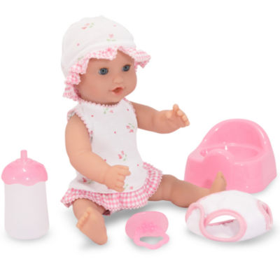 "Melissa & Doug® Annie - 12"" Drink & Wet Doll"""