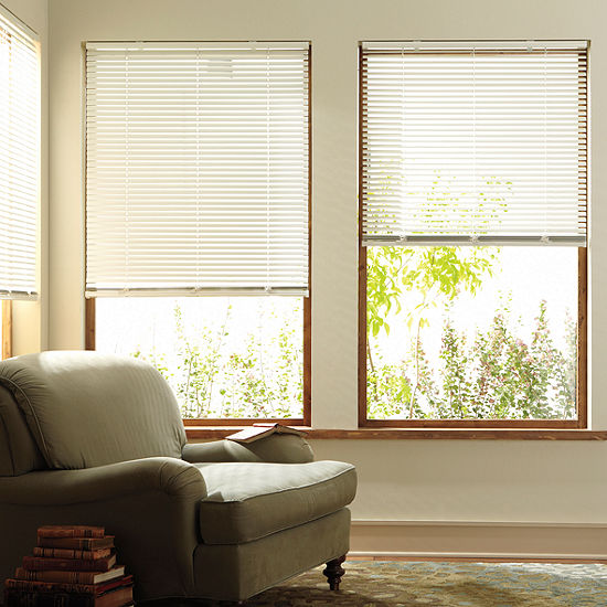 """JCPenney Home™ Custom 1"""" Aluminum One Touch Horizontal Blinds"""