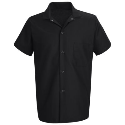 Chef Designs® Short-Sleeve Cook Shirt–Big & Tall