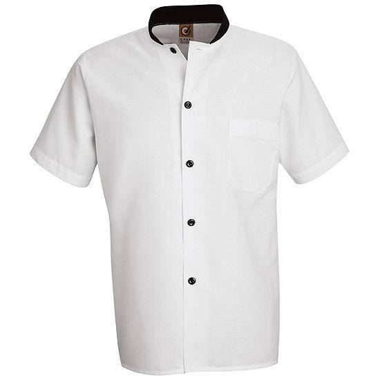 Chef Designs® Black-Trim Cook Shirt