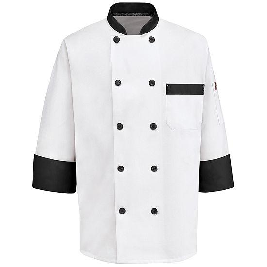 Chef Designs® Garnish Chef Coat–Big & Tall