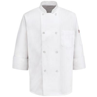 Chef Designs® 8-Button Chef Coat