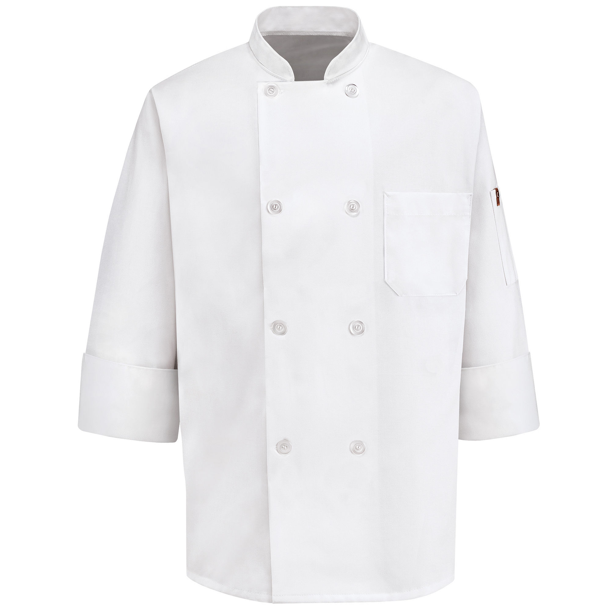 Chef Designs 8-Button Chef Coat plus size,  plus size fashion plus size appare