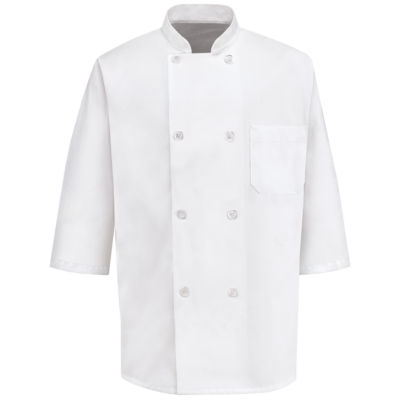 Chef Designs® Half Sleeve Chef Coat–Big & Tall