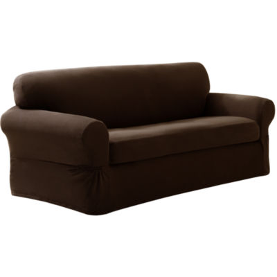 Maytex Smart Cover® Pixel Stretch 2-pc. Loveseat Slipcover