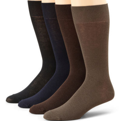 Stafford® 5-pk. Mens Cotton Rich Crew Socks