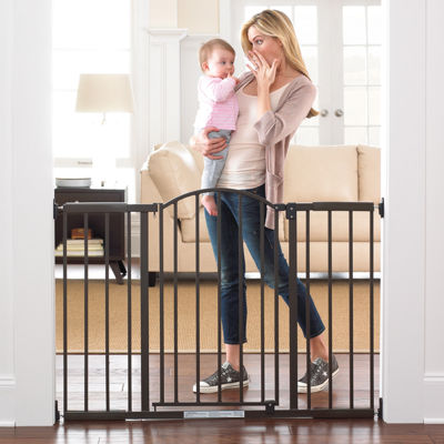 Summer Infant® Metal Expansion 6-Foot Wide Extra-Tall Walk-Thru Gate - Bronze