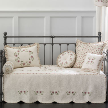 jcpenney.com | Home Expressions™ Lynette Embroidered Daybed Cover & Accessories