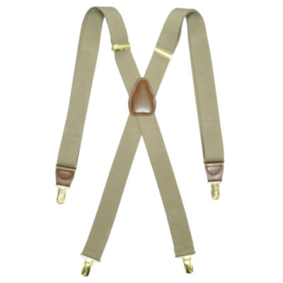 Dockers® Men's Stretch X-Back Suspenders with Adjustable Straps